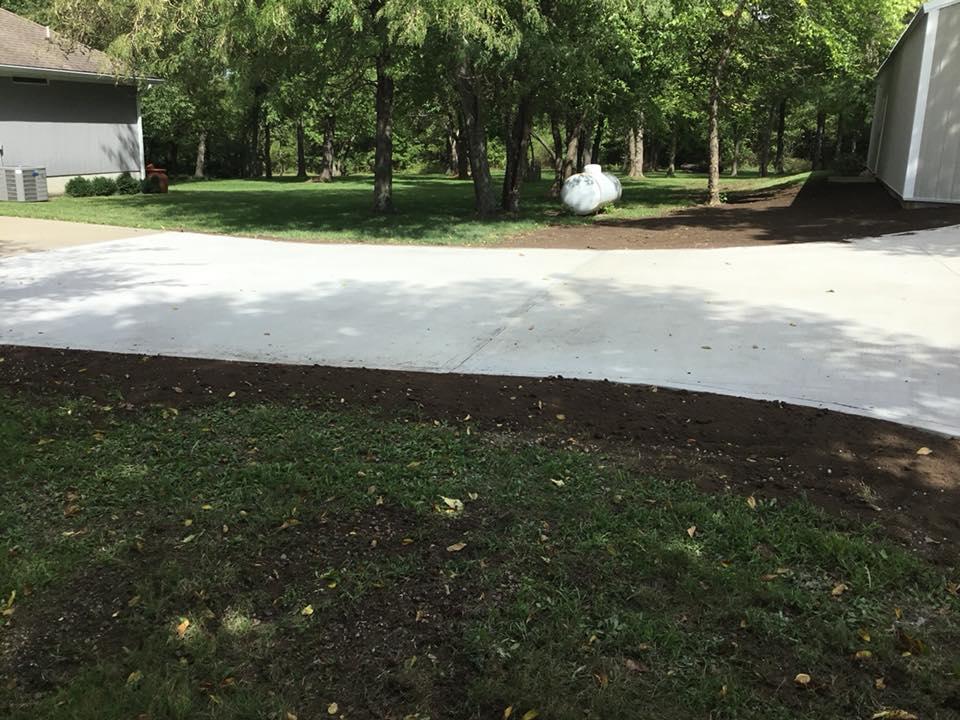 Custom driveway