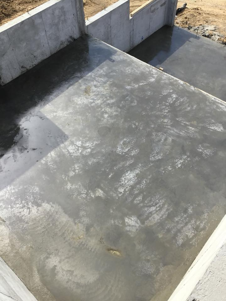 Foundation Walls and Floor